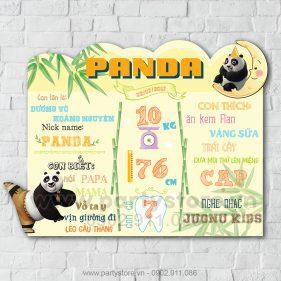 Bảng thông tin Gấu Trúc Panda
