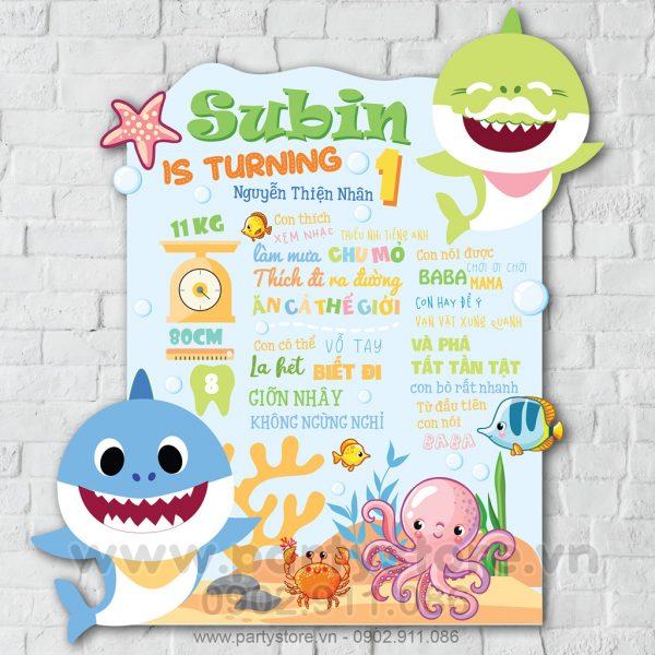 BTT Cá mập Baby Shark Doo Doo Doo