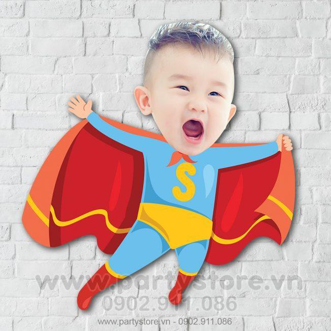 Chibi cho bé trai siêu nhân