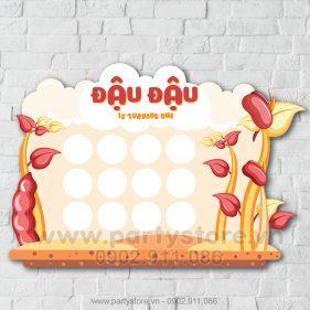 Khung hình 12 tháng bé gái Đậu Đậu
