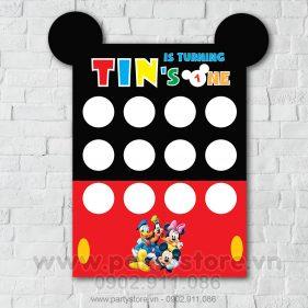 Khung 12 tháng chủ đề Mickey Mouse