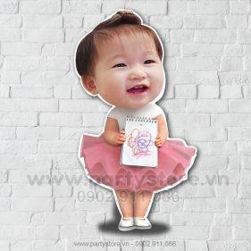Chibi em bé đáng yêu