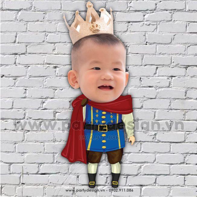 Chibi Hoàng Tử cho bé nam