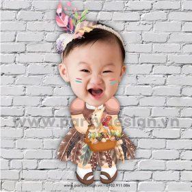 Chibi cho bé Thổ dân