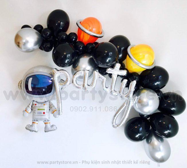 Set bong bóng Phi Hành Gia