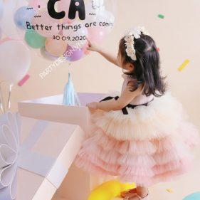 Bóng Jumbo thiết kế trang trí sinh nhật cho bé