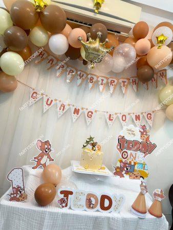 Tự trang trí sinh nhật tại nhà cho bé chủ đề chuột Jerry